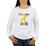 Bring the Troops Home Women's Long Sleeve T-Shirt