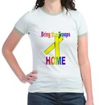 Bring the Troops Home Jr. Ringer T-Shirt