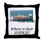 Where is their justice? Throw Pillow