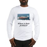 Where is their justice? Long Sleeve T-Shirt