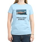 Where is their justice? Women's Light T-Shirt