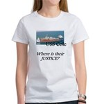 Where is their justice? Women's T-Shirt