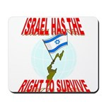Israel has the Right to Survi Mousepad