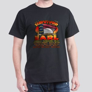 Survivor: Hurricane Earl Dark T-Shirt