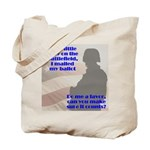 Soldier Votes Must Count Tote Bag