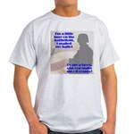 Soldier Votes Must Count Light T-Shirt