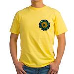 Flower Brooch 2 Yellow T-Shirt