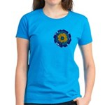 Flower Brooch 2 Women's Dark T-Shirt