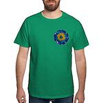 Flower Brooch 2 Dark T-Shirt