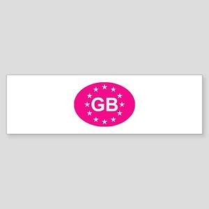 EU Pink UK Sticker (Bumper)
