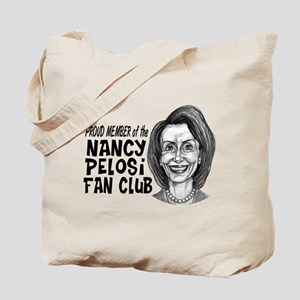Nancy Pelosi Fan Club Tote Bag