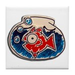 Fish Bowl Tile Coaster
