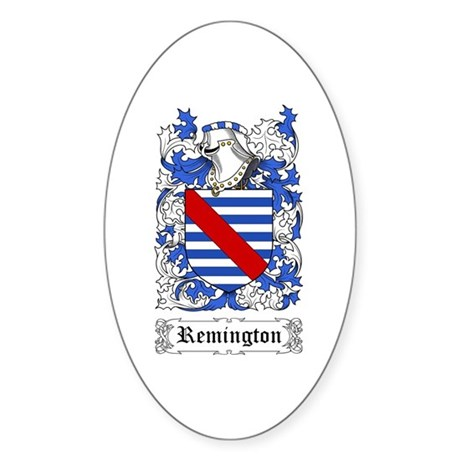 Remington Sticker (Oval 50 pk)