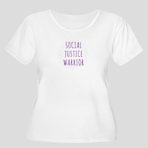 Social Justice Warrior Plus Size T-Shirt
