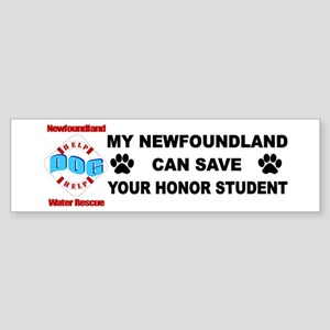 Save Your Honor Student Sticker (Bumper)