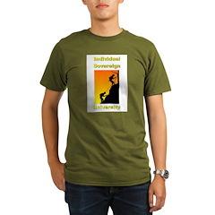 IndSovU Organic Men's T-Shirt (dark)