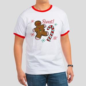 Christmas Sweet Ringer T