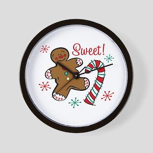 Christmas Sweet Wall Clock