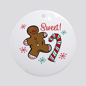 Christmas Sweet Ornament (Round)
