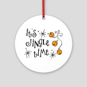 Jingle Time Ornament (Round)