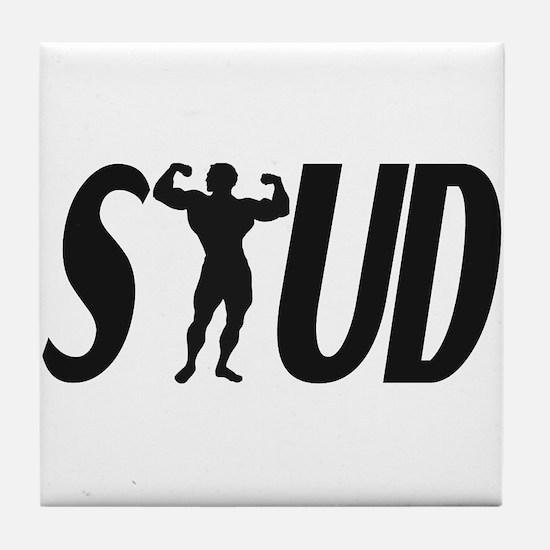 Stud Muscles Tile Coaster