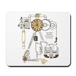 Steampunk Contraption Mousepad