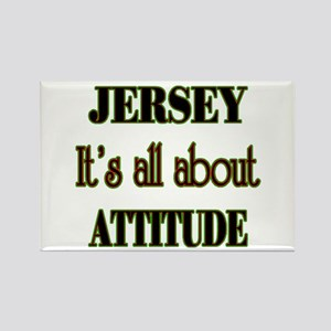 It's all about attitude! Rectangle Magnet