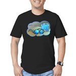 Jelly Glasses Men's Fitted T-Shirt (dark)