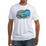 Jelly Glasses Fitted T-Shirt