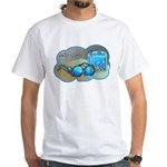 Jelly Glasses White T-Shirt