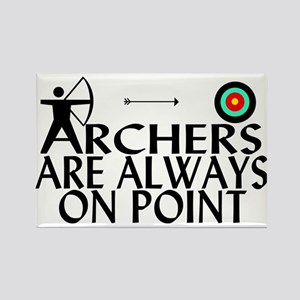 Archers On Point Rectangle Magnet