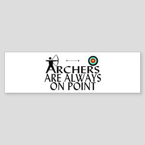 Archers On Point Sticker (Bumper)