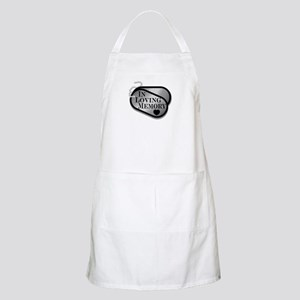 In Memory Dog Tags Apron