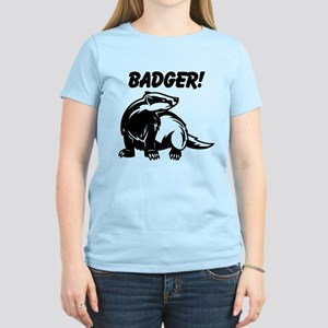 Corkscrew Badger! Women's Light T-Shirt