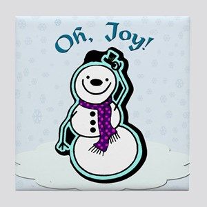 Oh, Joy! Snowman - Tile Coaster