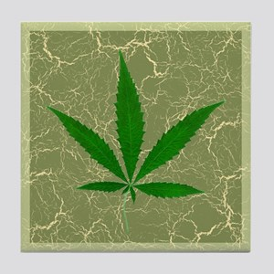 Cannabis Tile Coaster