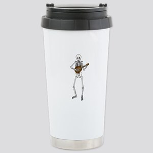 Skeleton Mandolin Stainless Steel Travel Mug
