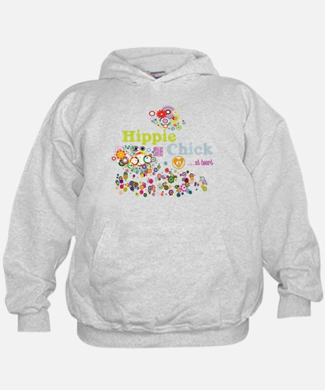 Hippie Chick at Heart Hoodie