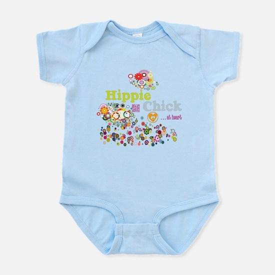 Hippie Chick at Heart Infant Bodysuit
