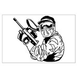 Paintball Large Poster