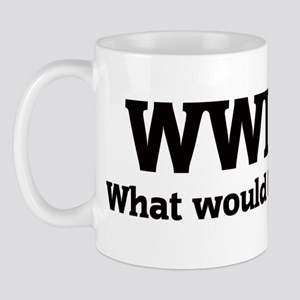 What would Izzy do? Mug