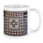 Hitching Post Quilt Trail Square Mug