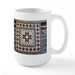 Hitching Post Quilt Trail Square Large Mug