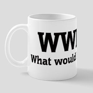 What would Harvey do? Mug
