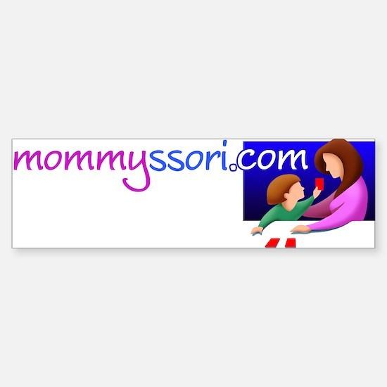 Funny Maria montessori Sticker (Bumper)