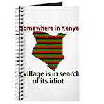 Somewhere in Kenya Journal