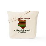 Somewhere in Kenya Tote Bag