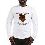 Somewhere in Kenya Long Sleeve T-Shirt