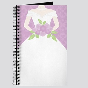 Purple Bride Wedding Journal