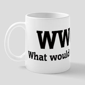 What would Graham do? Mug